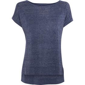 Patagonia Lightweight Linen - Camiseta manga corta Mujer - azul
